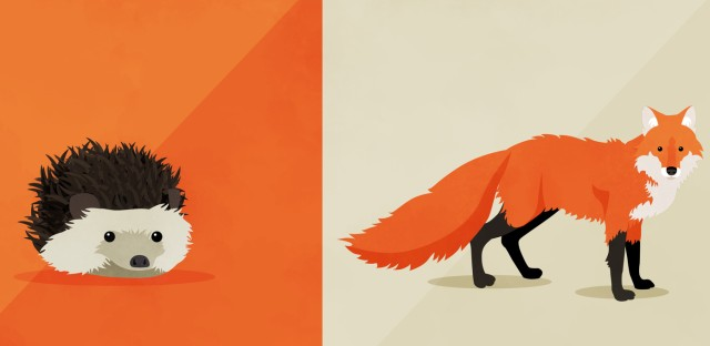 Hidden Brain : The Fox and the Hedgehog Image