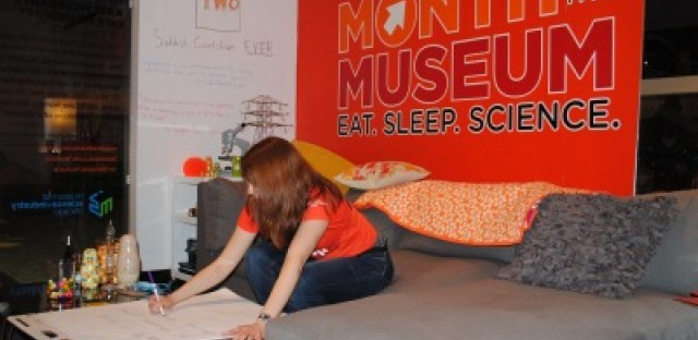 Museum of Science and Industry resident moves out