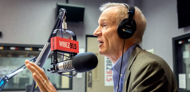 Gov. Bruce Rauner speaks on WBEZ's 'Morning Shift.'