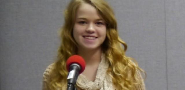 Poet Delaney Miller of Oak Park and River Forest High School