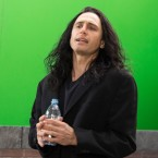 """James Franco plays eccentric filmmaker Tommy Wiseau in The Disaster Artist. Franco says Wiseau """"looks sort of like a mix between a vampire and a pirate and Michael Jackson. ... He has long black hair that looks like it's dyed with magic marker."""""""