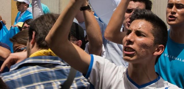 Guatemala's president resigns