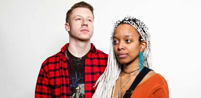 """Ben Haggerty, a.k.a. Macklemore, and Jamila Woods collaborated on the song """"White Privilege II."""""""