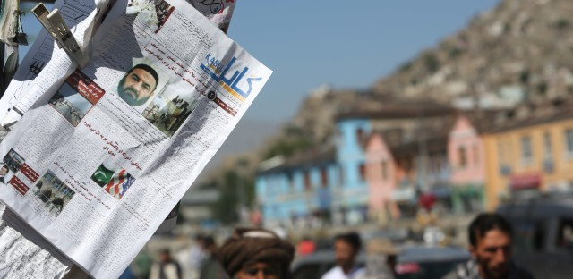 Newspapers hang for sale at a stand carrying headlines about the former leader of the Afghan Taliban, Mullah Akhtar Mansoor, who was killed in a U.S. drone strike last week, in Kabul, Afghanistan, Wednesday, May 25, 2016. The Afghan Taliban has confirmed that its former leader Mullah Akhtar Mansour was killed in a U.S. drone strike last week and appointed a successor. In a statement sent to media Wednesday, May 25, 2016, the insurgent group said its new leader is Mullah Haibatullah Akhundzada, one of two Mansour's deputies.