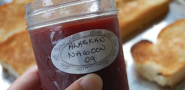 Wild Alaskan nagoon berry jelly