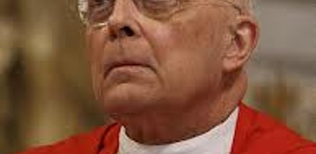 Cardinal George still very vocal and strong in position