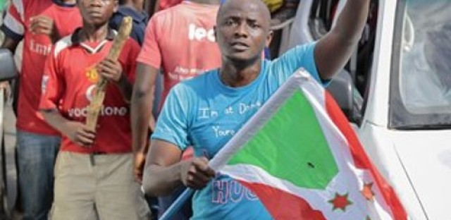 Possible coup underway in Burundi