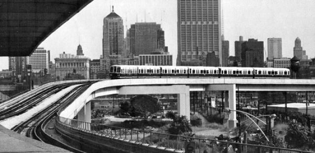 Chinatown connector to new Dan Ryan Line, 1970