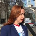 Cook County denied a WBEZ open-records request for official messages pertaining to a political group founded by Bridget Gainer, shown here in January 2017.