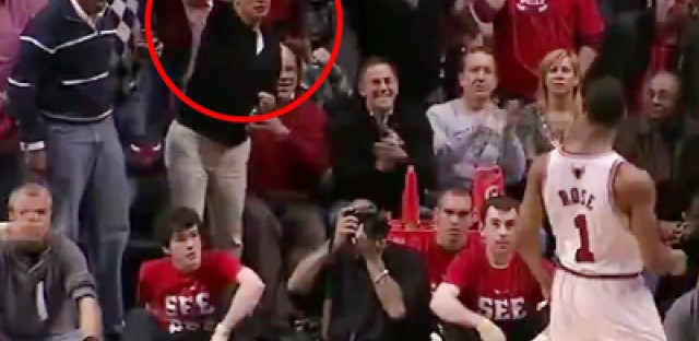 Video: Did you see Rahm's Gladiator moment at the Bulls game?