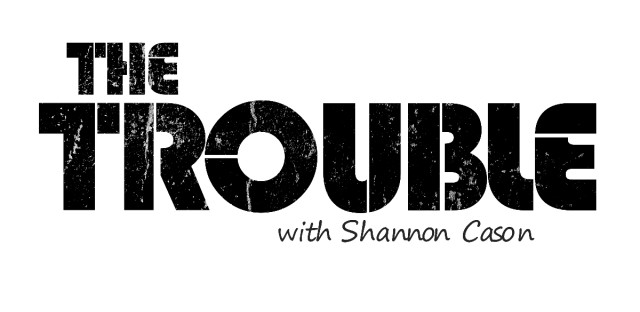 The Trouble Logo