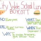 PETA Offers Vegan Lunch to Boycotting High Schoolers