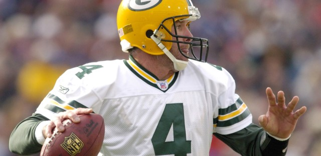 Pop Culture Happy Hour : The Giant Foam Finger: What We Talk About When We Talk About Brett Favre Image