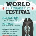 world fair trade day poster