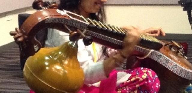 Global Notes: Saraswathi Ranganathan performs live