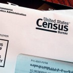 An envelope is shown as part of a test run of the 2020 Census. Illinois has set aside more than $20 million to get the word out about next year's census, but local groups say they see problems with the process of doling out the funds.