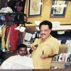 """James G. Coleman, a """"father figure"""" who ran Coleman Brothers Barber Shop on Chicago's South Side for more than 50 years, died last week at the age of 88."""