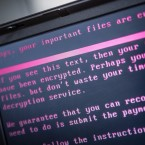 A laptop in the Netherlands was one of hundreds of thousands infected by ransomware in May. The malware reportedly originated with the NSA.