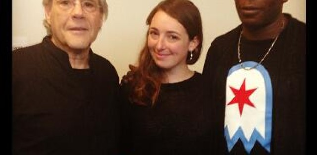 'Morning AMp' hosts Molly and Brian with Robert Klein.