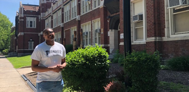 Marcus Goley is a 2019 graduate of Hirsch High School in the Greater Grand Crossing neighborhood on Chicago's South Side. He wasn't considering a gap year before he was selected for a program that will send him to Ecuador for a year before college.