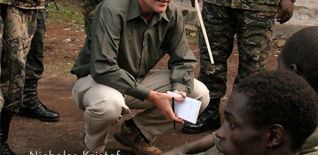 On Being : Nicholas Kristof — Journalism and Compassion Image