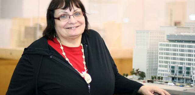 Poet Donna Pecore