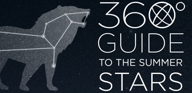 The constellation Leo can be found by following guide stars in the Big Dipper.