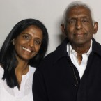 Paru Venkat came to StoryCorps with her father, Dr. Alagappa Rammohan.