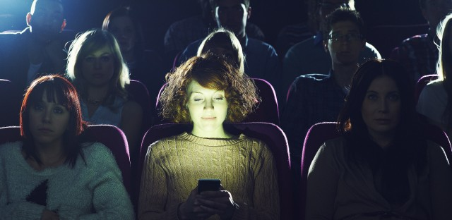 Should texting be allowed at some movie screenings?