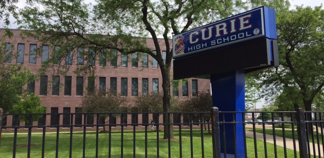 """Curie High School is one of many high schools falsely labeling dropouts. Over the last four years, 460 students were labeled as leaving for """"homeschooling""""."""