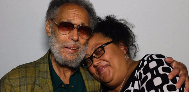 Ronald Clark, 83, and his daughter, Jamilah, 47, at StoryCorps in New York City.