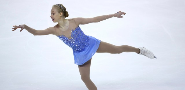 Bradie Tennell performs during the women's free skate event at the U.S. Figure Skating Championships in San Jose, Calif., Friday, Jan. 5, 2018.