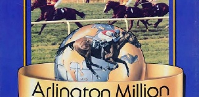 Program from the first Arlington Million