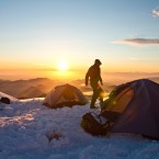 Escaping artificial light even for a winter weekend can reset sleep patterns for the better, researchers say. One good place to do it: Heliotrope Ridge near Mount Baker in Washington state.