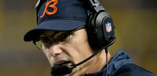 A Chicago Bears tight end recently compared head coach Marc Trestman to Willy Wonka. He says that if you really look at Trestman, he's a genius.