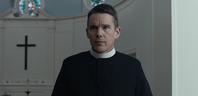 Ethan Hawke in First Reformed (2017)