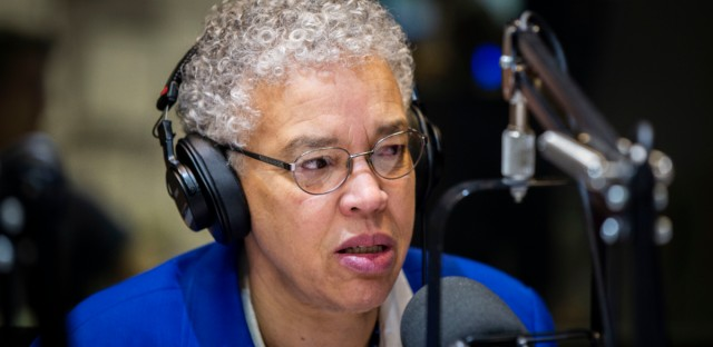 Cook County Board President Toni Preckwinkle visits Morning Shift on April 24, 2019.