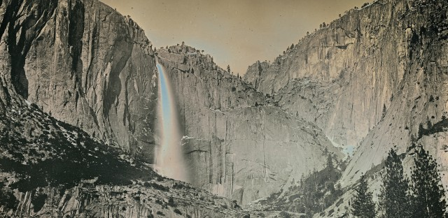 """Danh says he hopes his images will help viewers """"become a part of this land."""" Above, Yosemite Falls, shown in May 2011."""