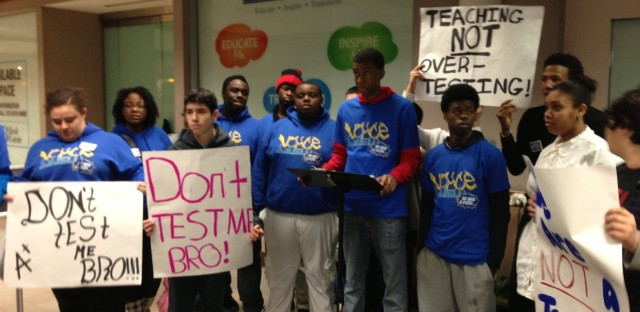 Students want to boycott state test