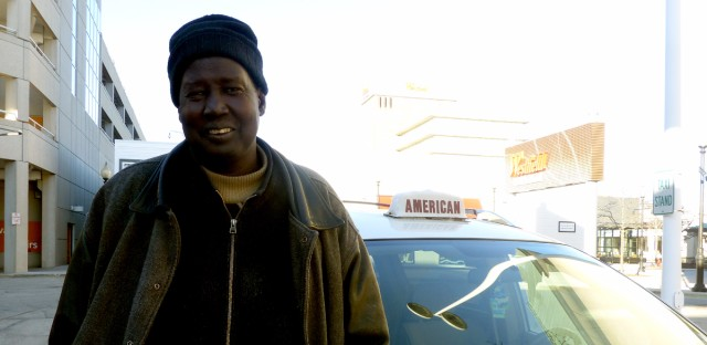 Sudanese American cab driver