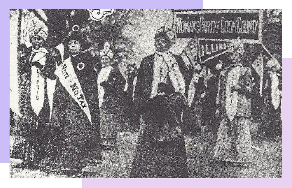Alpha Suffrage Parade