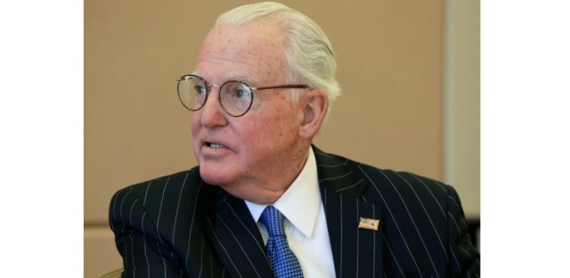 Ed Burke, the dean of Chicago's City Council, was re-elected to his 13th term in office in February, just weeks after FBI agents raided his offices and charged him with attempted extortion.