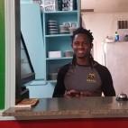 Samuel Sake of the family-owned Tesfa Ethiopian restaurant.