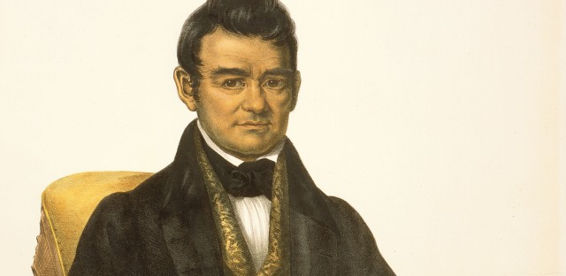 Cherokee chief John Ross battled the U.S. government for decades on behalf of his people.