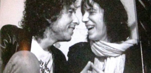 Bob Dylan and Patti Smith.
