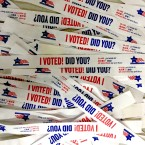 Election Day Voting Wristbands