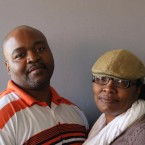 Ben and Clarissa Baker spoke to each other at the Invisible Institute in Chicago.