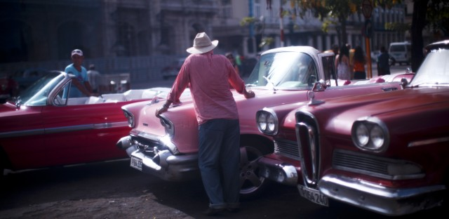 Pink cars.