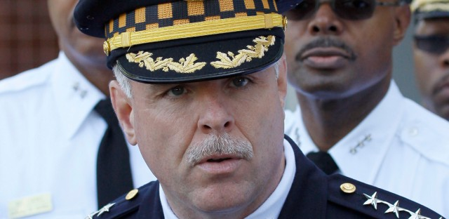 Former Chicago Police Superintendent Garry McCarthy in May 2012.