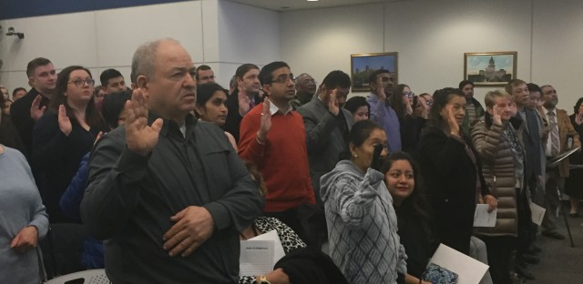 More Than 100 Immigrants Take Oath In Chicago To Become